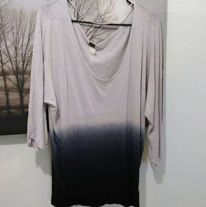 Free People Ombre Top